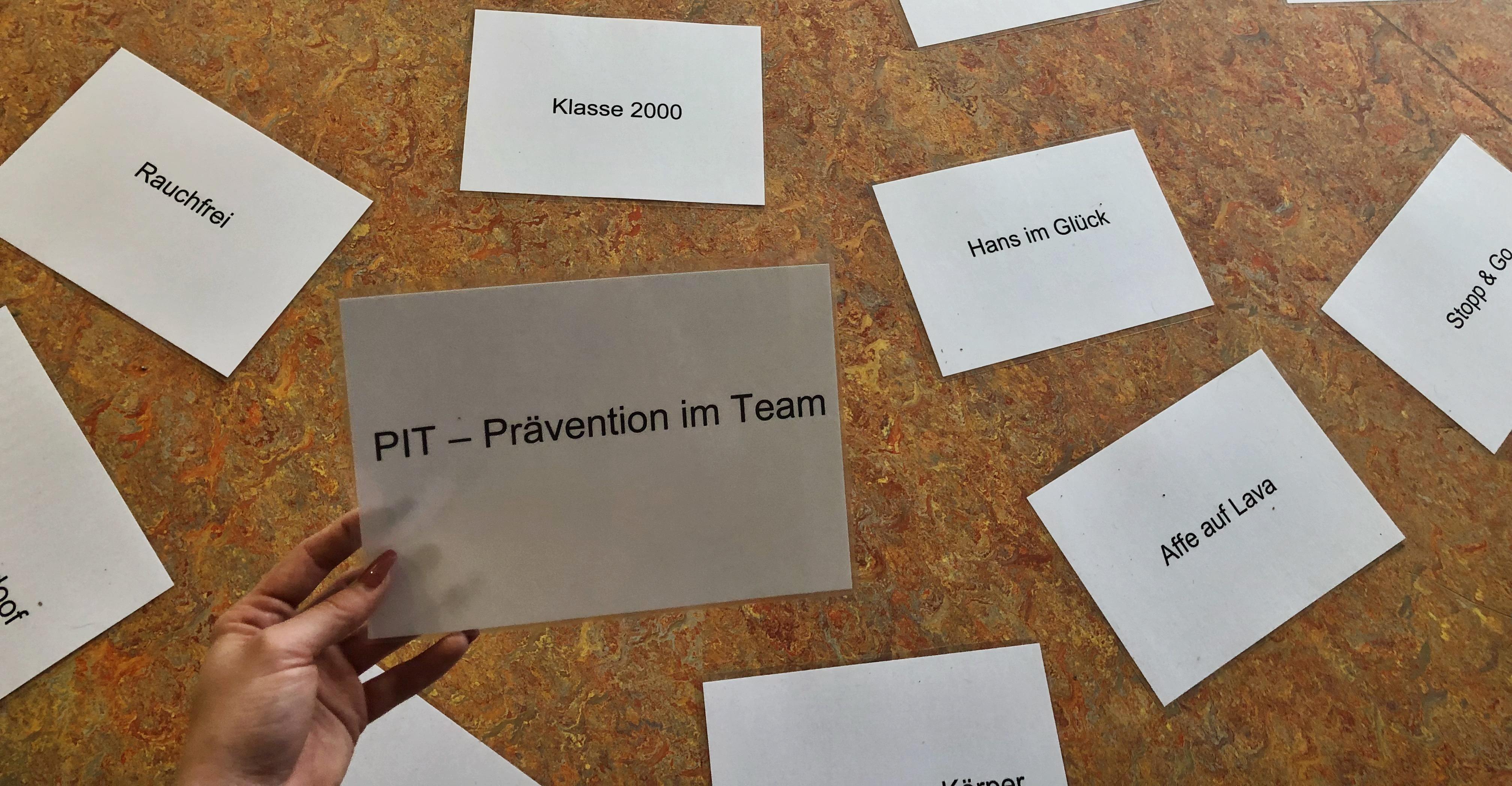 Sucht - Präventionsarbeit