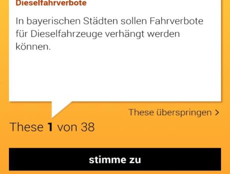 Landtagswahl 2018 – Mach dein Kreuz, denn jede Stimme zählt.