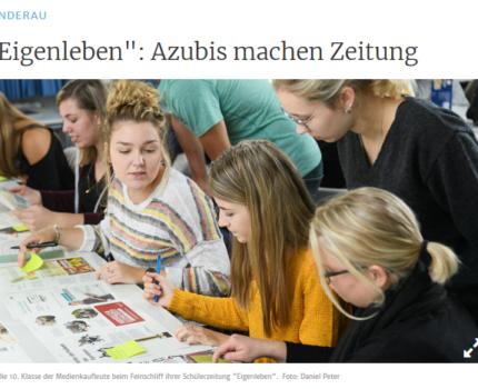 eigenleben: Azubis machen Zeitung